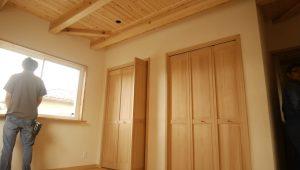 【宮城県仙台市Y様邸】無垢材と漆喰で建てる、自然素材注文住宅