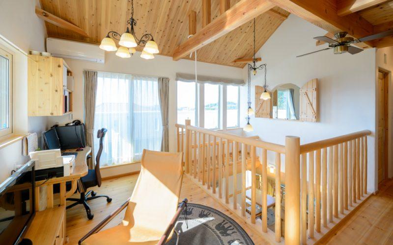 無垢材と漆喰に囲まれたくつろぎの空間   自然素材の注文住宅,健康住宅   実例写真   愛知県小牧市