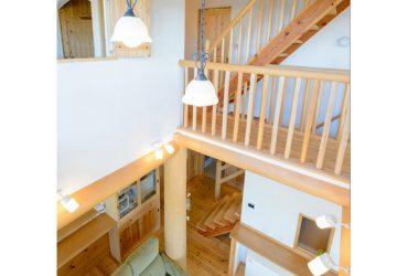 光や空気を通して快適さを生み出す吹き抜け | 自然素材の注文住宅,健康住宅 | 実例写真 | 愛知県小牧市