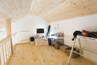 収納とプレイルームを兼ねたロフト | 自然素材の注文住宅,健康住宅 | 実例写真 | 埼玉県さいたま市