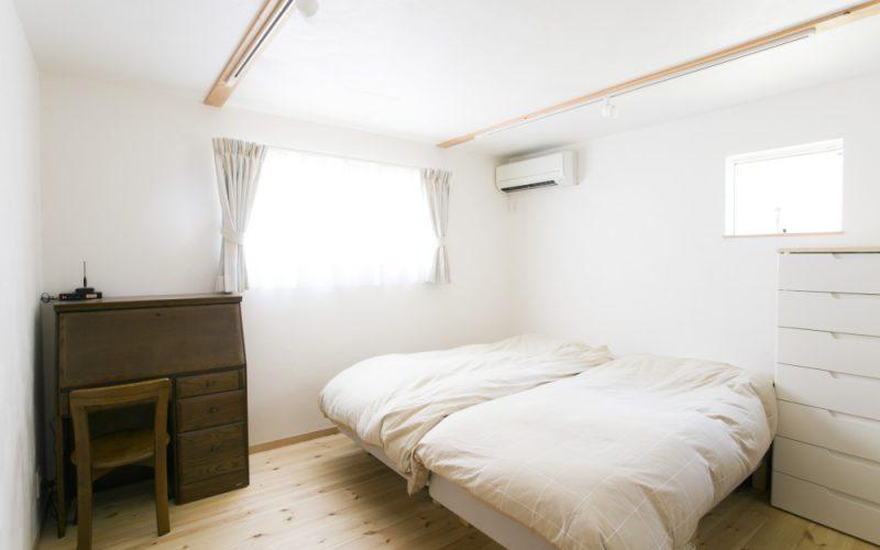 自然素材に囲まれた心地よい寝室 | 自然素材の注文住宅,健康住宅 | 実例写真 | 東京都西東京市