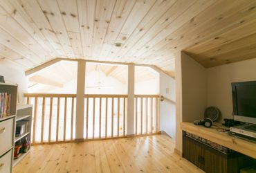 ロフトを趣味部屋として利用 | 自然素材の注文住宅,健康住宅 | 実例写真 | 東京都西東京市