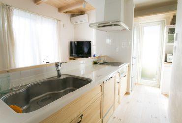 スパーラジエントヒーターを選択した使い勝手のよいキッチン | 自然素材の注文住宅,健康住宅 | 実例写真 | 埼玉県さいたま市