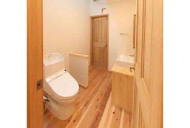 自然素材でトイレまで気持ちいい | 自然素材の注文住宅,健康住宅 | 実例写真 | 東京都練馬区