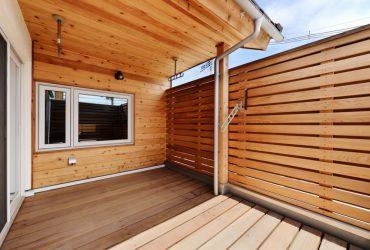 木張りの外壁 | 自然素材の注文住宅,健康住宅 | 実例写真 | 宮城県仙台市