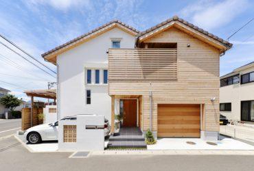 外部にもふんだんに木を使った人目をひく外観 | 自然素材の注文住宅,健康住宅 | 実例写真 | 宮城県仙台市