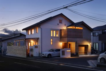 木をふんだんに使った個性的な佇まい | 自然素材の注文住宅,健康住宅 | 実例写真 | 宮城県仙台市