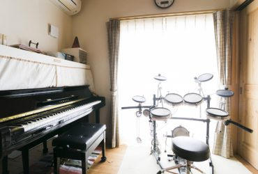 楽器部屋 | 自然素材の注文住宅,健康住宅 | 実例写真 | 茨城県牛久市