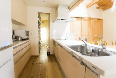 家事導線にも配慮されたキッチン | 自然素材の注文住宅,健康住宅 | 実例写真 | 茨城県牛久市