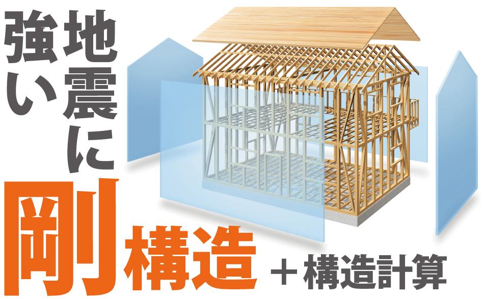 「身体に、自然に、お財布に優しい家」構造見学会