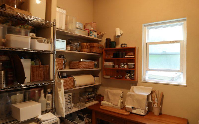 パントリーと家事室