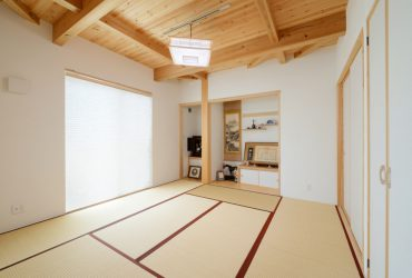 自然光が差し込む明るい和室 | 自然素材の注文住宅,健康住宅 | 実例写真 | 宮城県仙台市