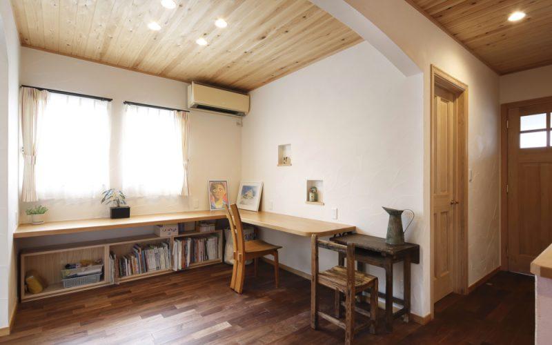 スタディールーム | 自然素材の注文住宅,健康住宅 | 実例写真 | 岐阜県関市