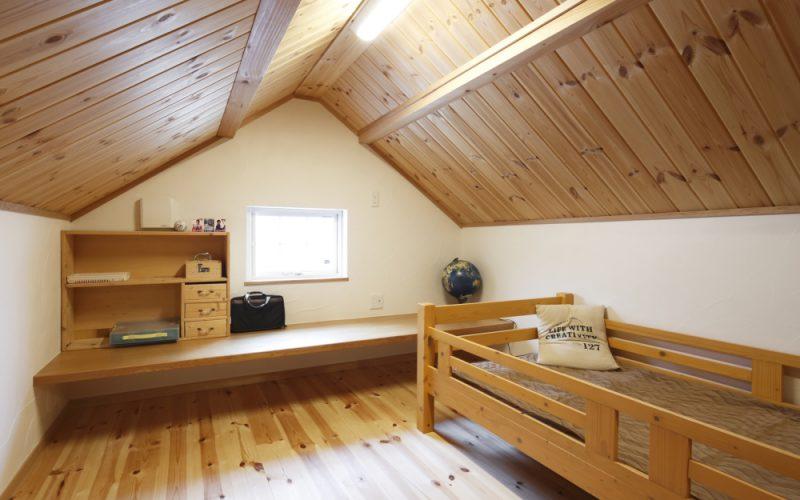 木の香りが気持ちよいロフト | 自然素材の注文住宅,健康住宅 | 実例写真 | 岐阜県関市