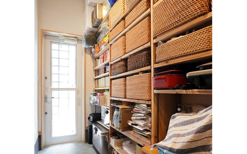 キッチン裏パントリー | 自然素材の注文住宅,健康住宅 | 実例写真 | 岐阜県関市