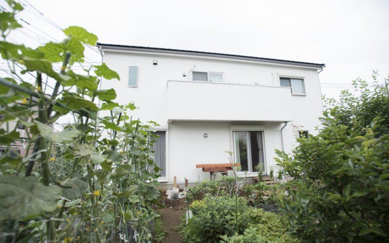 家庭菜園 | 自然素材の注文住宅,健康住宅 | 実例写真 | 東京都三鷹市