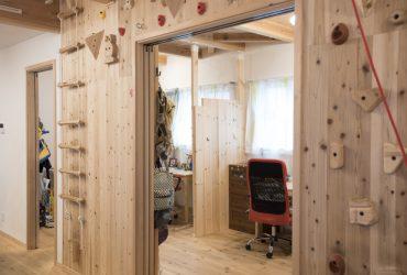 リビング続きの子供部屋 | 自然素材の注文住宅,健康住宅 | 実例写真 | 東京都三鷹市