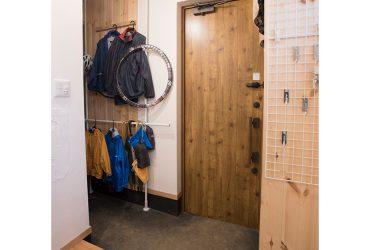 壁面を利用した玄関収納 | 自然素材の注文住宅,健康住宅 | 実例写真 | 東京都三鷹市