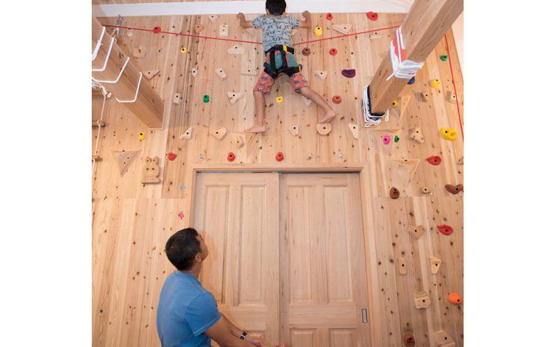 家の中が子供の遊び場 | 自然素材の注文住宅,健康住宅 | 実例写真 | 東京都目