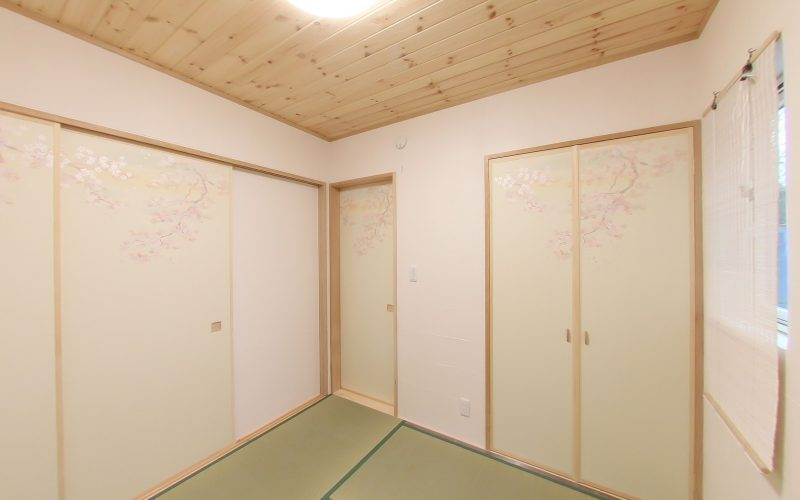 落ち着くシンプルな和室 | 自然素材の注文住宅,健康住宅 | 実例写真 | 岐阜県岐阜市
