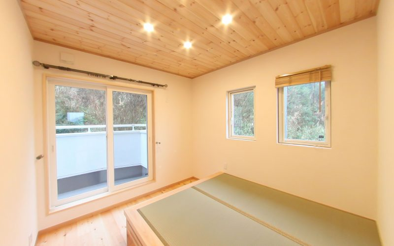 小上がり風の和室 | 自然素材の注文住宅,健康住宅 | 実例写真 | 岐阜県岐阜市
