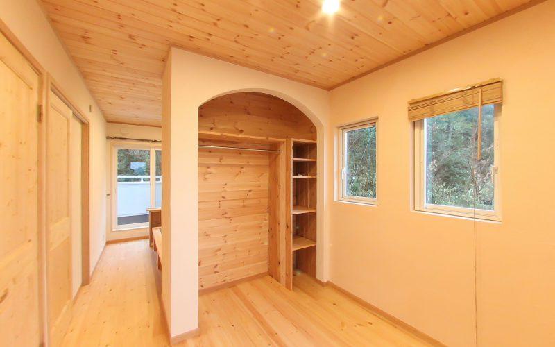 無垢材と漆喰で心地よい子供部屋| 自然素材の注文住宅,健康住宅 | 実例写真 | 岐阜県岐阜市