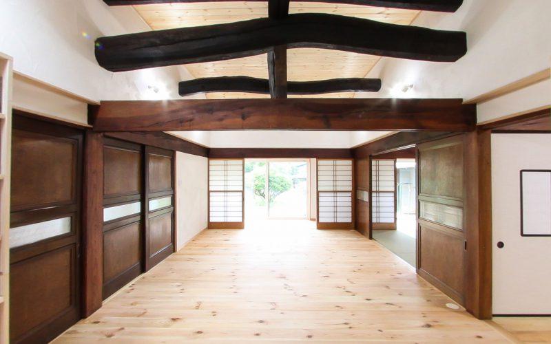 存在感のある梁 | 自然素材の注文住宅,健康住宅 | 実例写真 | 栃木県下都賀郡