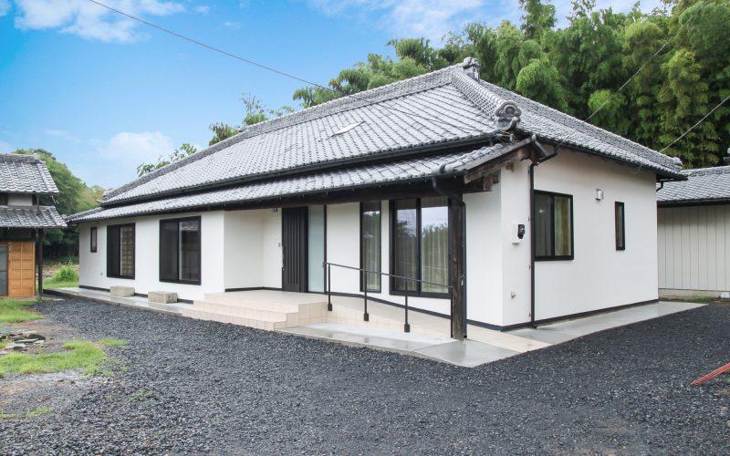 風情ある平屋 | 自然素材の注文住宅,健康住宅 | 実例写真 | 栃木県下都賀郡