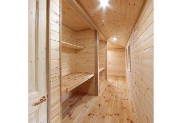 前面木張りの廊下 | 自然素材の注文住宅,健康住宅 | 実例写真 | 栃木県下都賀郡