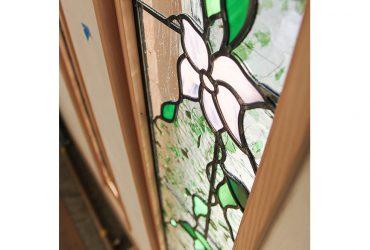 こだわりのステンドグラス | 自然素材の注文住宅,健康住宅 | 実例写真 | 埼玉県さいたま市