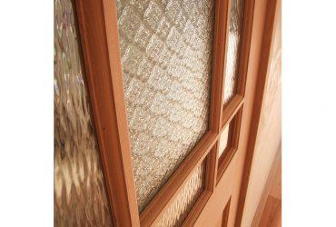 おしゃれな模様ガラスの格子戸 | 自然素材の注文住宅,健康住宅 | 実例写真 | 埼玉県さいたま市