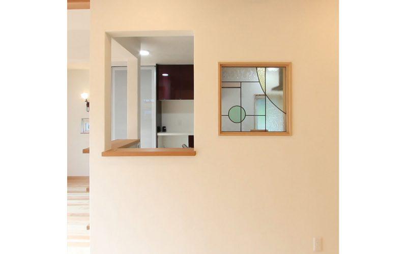 リビングを見渡せる開放的なキッチン | 自然素材の注文住宅,健康住宅 | 実例写真 | 埼玉県さいたま市