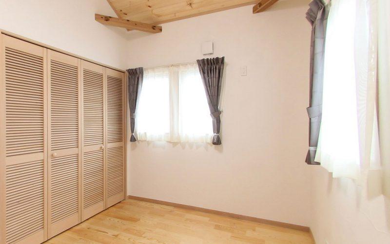 自然素材に包まれた目覚めのよい寝室 | 自然素材の注文住宅,健康住宅 | 実例写真 | 栃木県下都賀郡