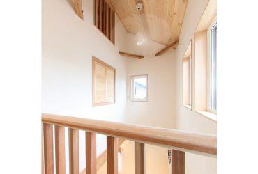 冷暖房を効率よく循環させる設計 | 自然素材の注文住宅,健康住宅 | 実例写真 | 栃木県下都賀郡