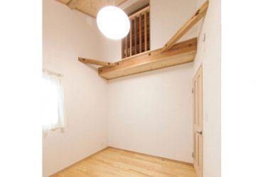 ロフトのエアコンから各部屋に冷気を送る | 自然素材の注文住宅,健康住宅 | 実例写真 | 栃木県下都賀郡
