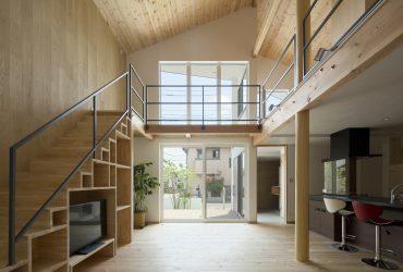 パッシブデザインの開放的な空間 | 千葉県柏市