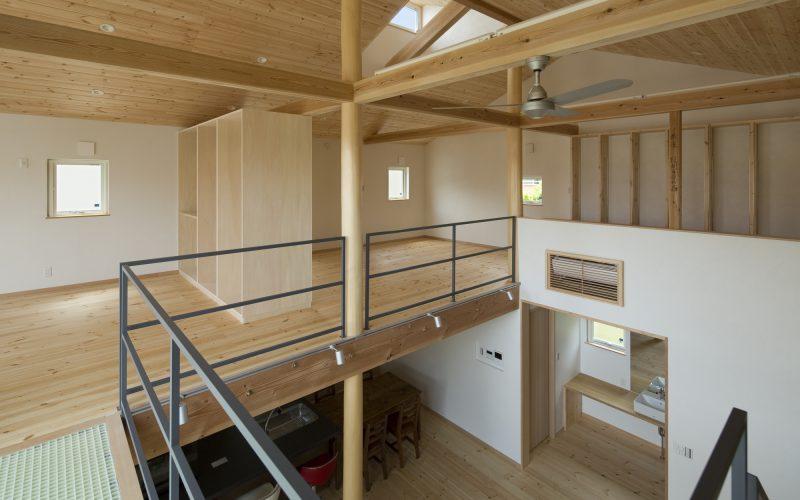 暫定的に、8畳の主寝室、6畳の子供室×2という間取りでプランニングしました。