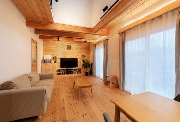 自然素材のシンプルモダンな家 | 山形県山形市